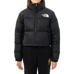 The North Face Women's Nuptse Cropped Jacket - Tnf Black