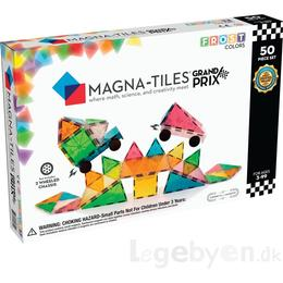 Magna-Tiles Frost Colors Grand Prix 50pcs