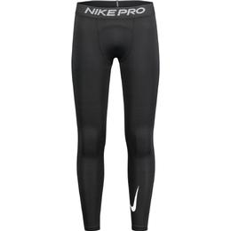 Nike Pro Warm Tights Men - Black/Black/White