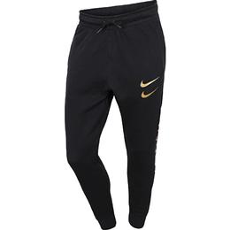 Nike Swoosh Trousers Men - Black/Metallic Gold