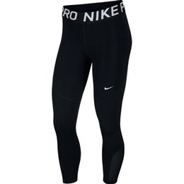 Nike Pro Crops Women - Black/White