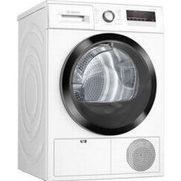 Bosch WTH85VB8SN Hvid, Sølv