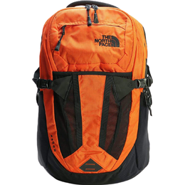 The North Face Recon Backpack - Persian Orange/Rip Stop/TNF Black