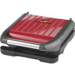George Foreman Steel Grill Red 25030