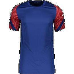 Nike Dri-FIT Strike Short-Sleeve Football Top Men - Deep Royal Blue/Dark Beetroot/Bright Crimson/White