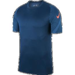 Nike Dri-FIT Strike Short-Sleeve Football Top Men - Valerian Blue/Valerian Blue/Industrial Blue/Laser Crimson