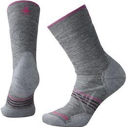 Smartwool PhD Outdoor Medium Hiking Crew Socks Women - Medium Gray