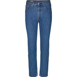 Levi's 501 Crop Jeans - Breeze Stone/Indigo