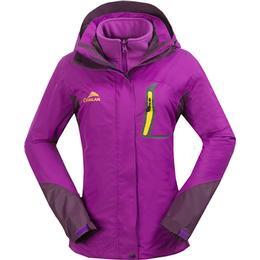 Cikrilan Hiking 3-in-1 Jackets Women - Purple