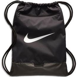 Nike Brasilia Gymbag - Black/Black/White
