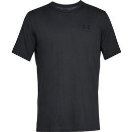 Under Armour Sportstyle Left Chest Logo T-Shirt - Black