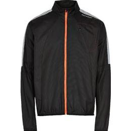 Newline Visio Wind Jacket Men - Black/Neon Orange 067