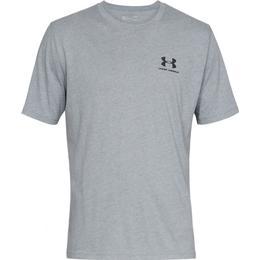 Under Armour Sportstyle Left Chest Logo T-Shirt - Grey