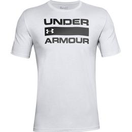 Under Armour Team Issue Wordmark Short Sleeve T-shirt Men - White