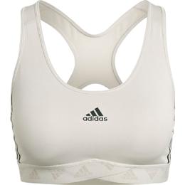 Adidas Mesh Sports Bra - Aluminium/Black