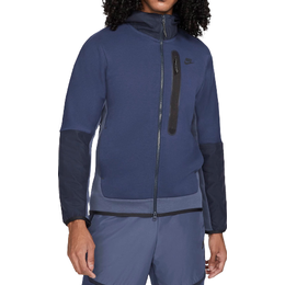 Nike Tech Fleece Woven Full Zip Hoodie Men - Midnight Navy/Thunder Blue/Dark Obsidian/Black