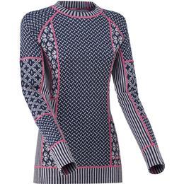 Kari Traa Smekker Wool Long Sleeve Women - Pearl
