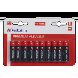Verbatim AA Premium Alkaline Compatible 10-pack