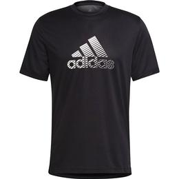 Adidas Designed 2 Move Activated Tech Aeroready T-shirt Men - Black/Grey Six
