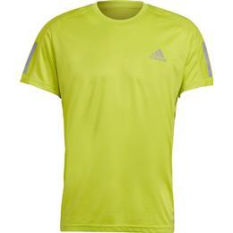 Adidas Own the Run T-shirt Men - Acid Yellow