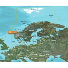 Garmin BlueChart g3 Vision VEU721L - Northern Europe