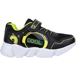 zigzag Dontua Flashing Sneakers - Black