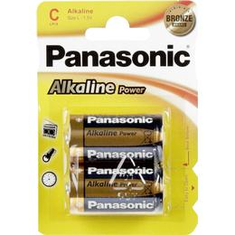Panasonic Alkaline Power C 2-pack