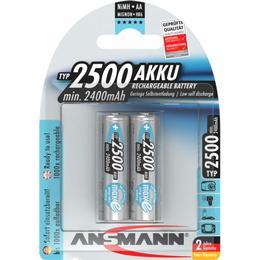 Ansmann NiMH Mignon AA 2500mAh MaxE 2-pack