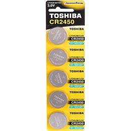 Toshiba CR2450 Compatible 5-pack