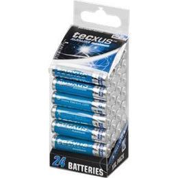Tecxus AAA Alkaline Compatible 24-pack