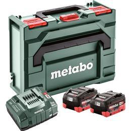 Metabo Basic Set 2xLiHD 8.0Ah + Metaloc