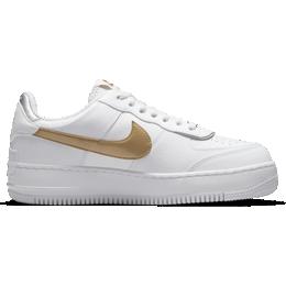 Nike Air Force 1 Shadow W - White/Metallic Silver/Metallic Gold