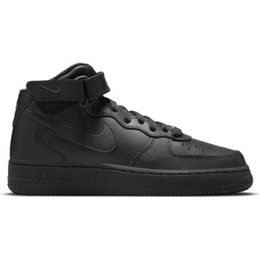 Nike Air Force 1 Mid LE GS - Black/Black
