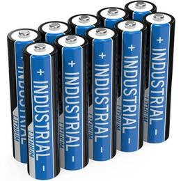 Lithium Industrial LR03 AAA 1150mAh Compatible 10-pack