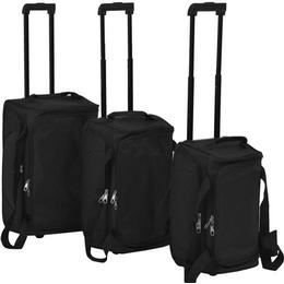 vidaXL Softcase Suitcase - 3 Set