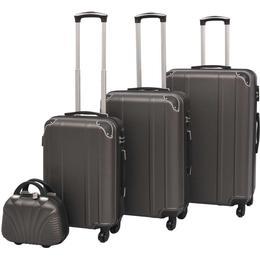 vidaXL Hardcase Suitcase - 4 stk.