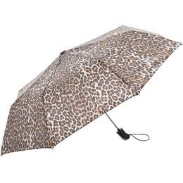 Trespass Maggiemay Compact Umbrella Leopard Print