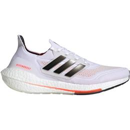 Adidas UltraBOOST 21 M - Cloud White/Core Black/Solar Red