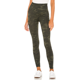 Spanx Look at Me Now Seamless Leggings - Green Camo
