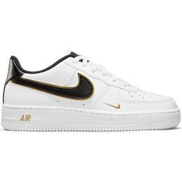 Nike Air Force 1 LV8 GS - Black/Metallic Gold/White/Black
