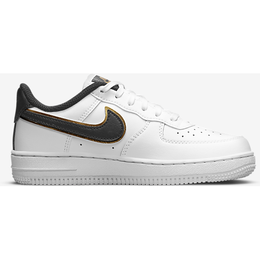 Nike Force 1 LV8 TD - White/Metallic Gold /White/Black