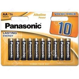 Panasonic Alkaline Power AA 10-pack