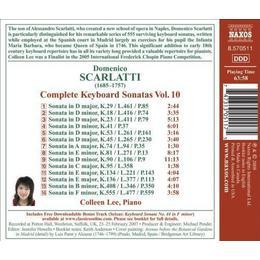 Scarlatti: Complete Keyboard Sonatas, Vol. 10