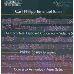 C.P.E.Bach - Keyboard Concertos, Vol. 5