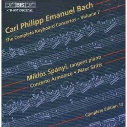 CPE Bach: Keyboard Concertos, Vol.7