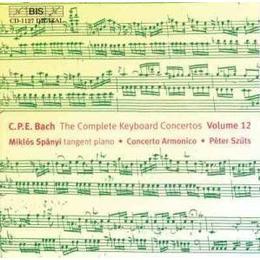 Bach, CPE - Complete Keyboard Concertos Vol 12