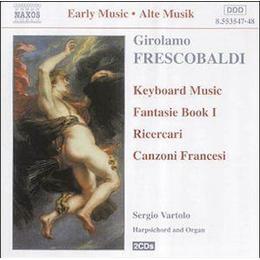 Sergio Vartolo - Girolamo Frescobaldi: Keyboard Works