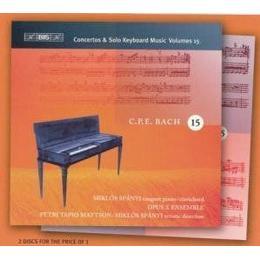 Bach, C.P.E.: Keyboard Concertos (Complete), Vol. 15 / Keyboard Music, Vol. 15