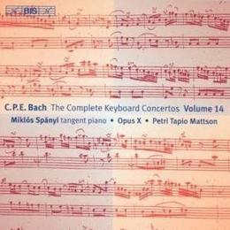 Bach, CPE - Keyboard Concertos, Vol 14
