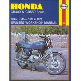 Honda 400 and 550 Fours Owner's Workshop Manual (Motorcycle Manuals)